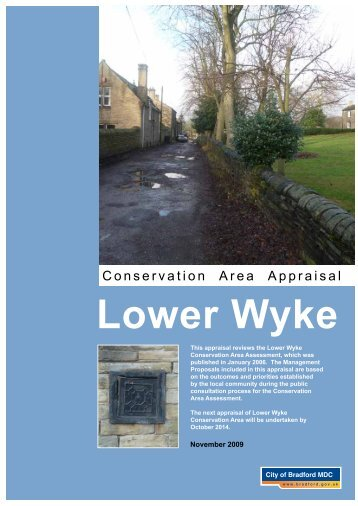 Lower Wyke - Bradford Metropolitan District Council
