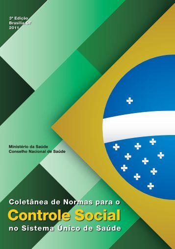 Coletânea de Normas para o Controle Social no - Conselho ...