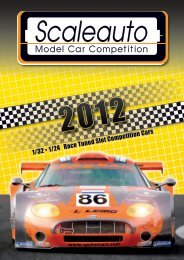 Scaleauto catalogue 2012 - Pendle Slot Racing