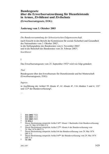 AS 2005 1429 - admin.ch