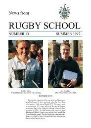 Summer 97 | PDF - Rugby School