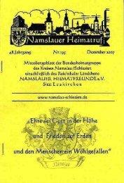 Heft195 (ohne Familiennachrichten - Namslau