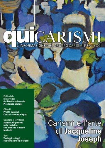 Carismi e l'arte di Jacqueline Joseph - Cassa di Risparmio di San ...