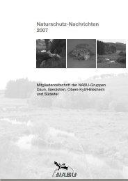 NaNa 2007 - NABU Daun eV
