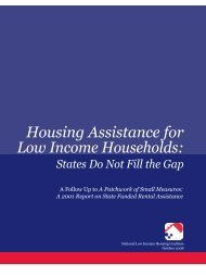 Housing Assistance for Low Income Households (.pdf, 647 KB)