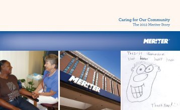 Caring for Our Community - Meriter Health Services