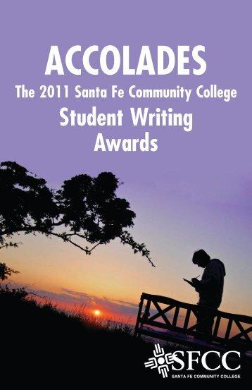 2011 Student Writing Awards Booklet - Santa Fe Community College