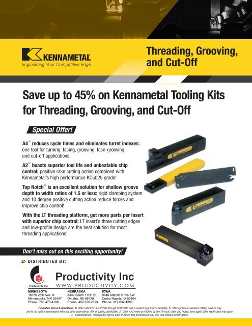 """TopNotch Extnal Right Hand Toolholder 2B for Threading//Grooving 5//8/""""shank NEW!!!"""
