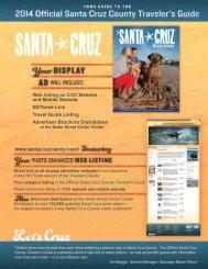 2014 Rate Card & Advertising Information - Santa Cruz