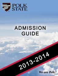 Admission Guide - Polk State College