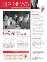 News - SADS Foundation