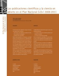 Las publicaciones científicas y la ciencia en abierto - Madri+d