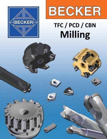 "BECKER ""TFC MillCut"" End Mills - Tyson Tool Company Limited"