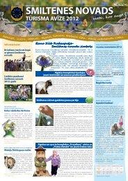 tūrisma avīzi - Smiltene