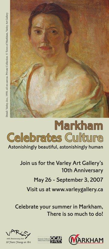 Markham Celebrates Culture Calendar