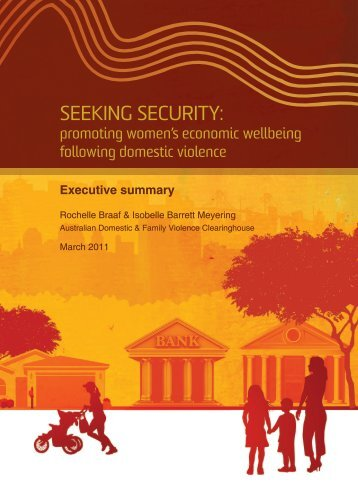 Seeking Security: - Australian Domestic and Family Violence ...