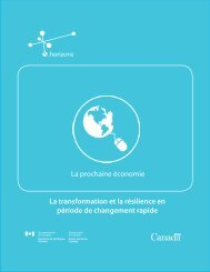 Version PDF 800 KB 40 pages - Horizons de politiques