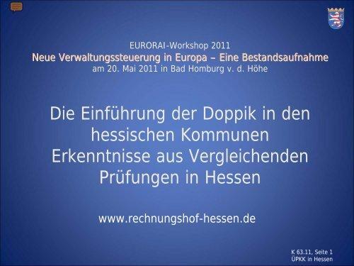 Bundesprüfertage 2010 am 26. und 27. August in ... - Eurorai.org