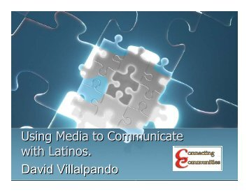 Using Media to Communicate with Latinos ... - Oregon State 4-H