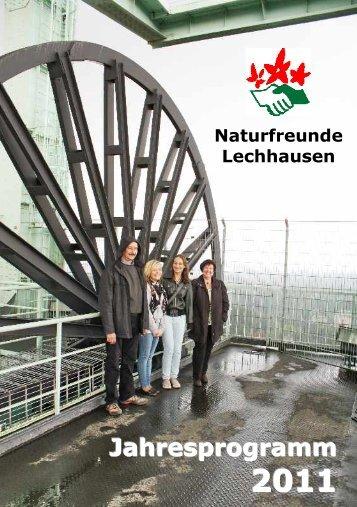 Geburtstage 2011 - Naturfreunde Lechhausen e.V.