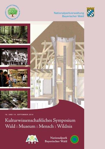 Kulturwissenschaftliches Symposium Wald : Museum : Mensch ...