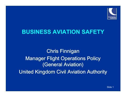Business Aviation Safety Group