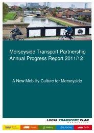 Merseyside Transport Partnership Annual Progress Report 2011/12