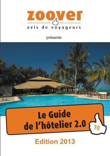 Le Guide de l'hôtelier 2.0 - Zoover