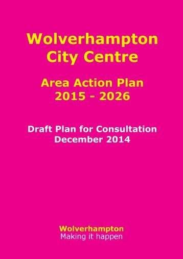 City Centre AAP Draft Plan Main Document