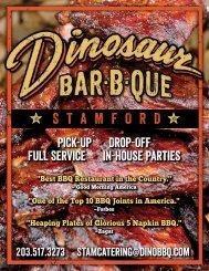 Catering - Dinosaur Bar-B-Que