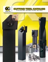 Cutting tool Catalog - GKI Cutting Tools