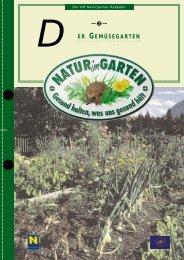 ER GEMÃœSEGARTEN D - Natur im Garten