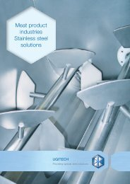 Meat Product Industry - SCHMOLZ-BICKENBACH.US