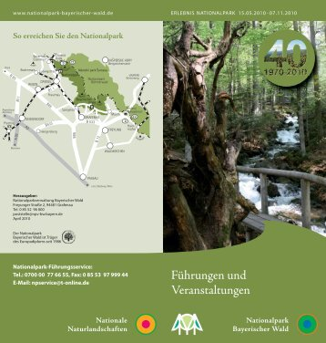 Hüttenöffnungszeiten - Nationalpark Bayerischer Wald