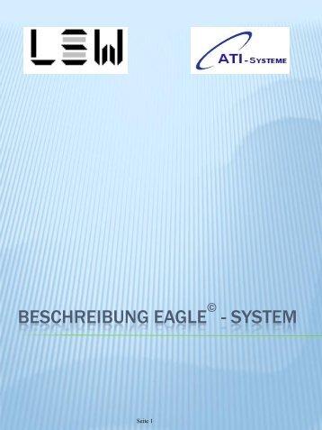 BESCHREIBUNG EAGLE - SYSTEM - Lagersystem-Service-Weiß