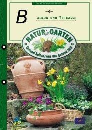 alkon und terrasse b - Natur im Garten