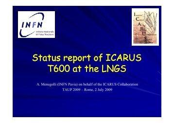 slides - TAUP 2009 - Infn
