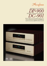 ) el) (D) ton DP-900: Digital-only SA-CD/CD transport ... - Accuphase