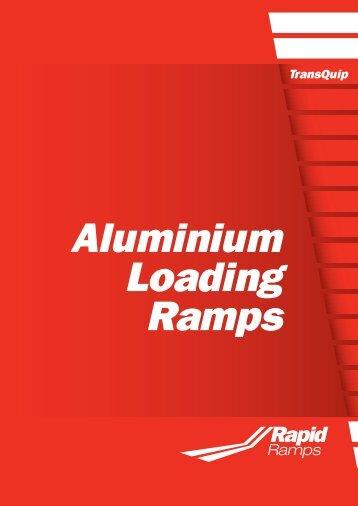Aluminium Loading Ramps - TransQuip