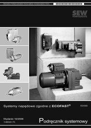 Podręcznik systemowy - SEW-Eurodrive