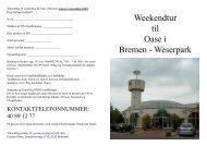 Weekendtur til Oase i Bremen - Weserpark - Danske Naturister