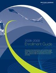 2008-2009 Annual Enrollment Guide - Benefits Online