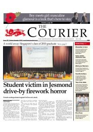 8th November (Issue 1217) - The Courier