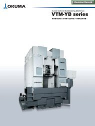 VTM-YB series 5-Axis Vertical Multitasking Machines