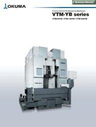 VTM-YB series 5-Axis Vertical Multitasking Machines