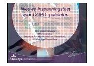 Willem Gosens - Een nieuwe inspanningstest voor COPD-patiënten