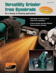 D07.04_Versatility Grinder Lit.qxd:Layout 1 - Dynabrade Inc.