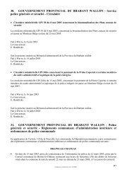 Circulaire 31. GOUVERNEMENT PROVINCIAL - Province du ...