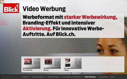 Blick.ch Video Werbung - Go4media