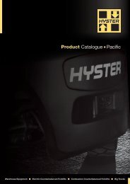 Product Catalogue n Pacific - Hyster Company